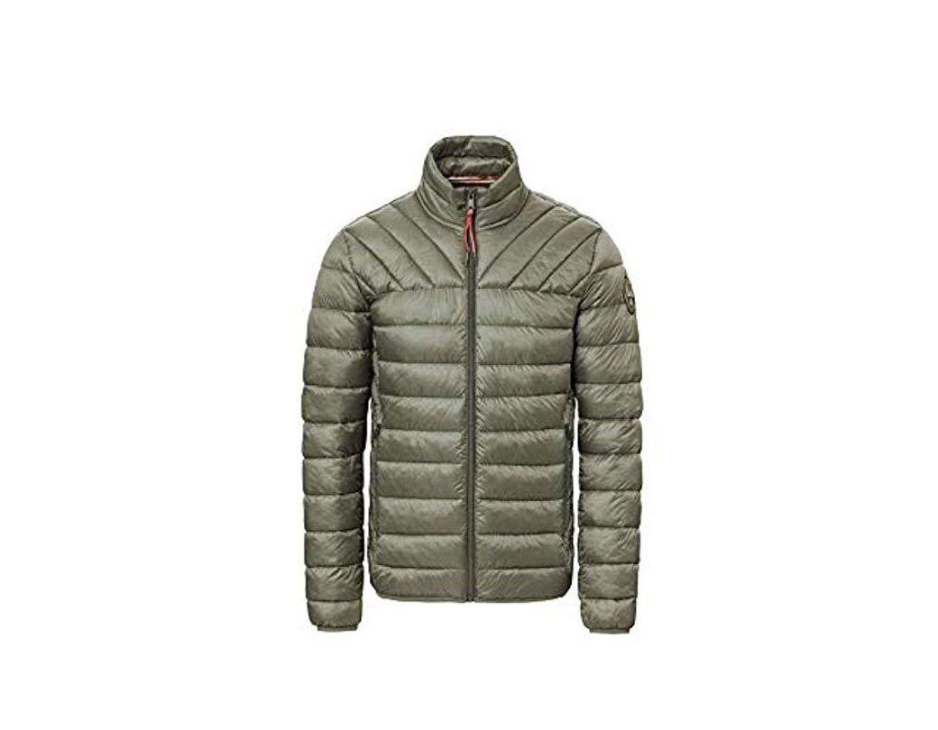 ffdf4054cc8d6 Men's Green Aerons Stand Jacke Jacket
