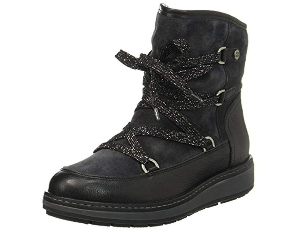 e4171be37 Tommy Hilfiger W1285ooli 14c1 Snow Boots in Black - Lyst