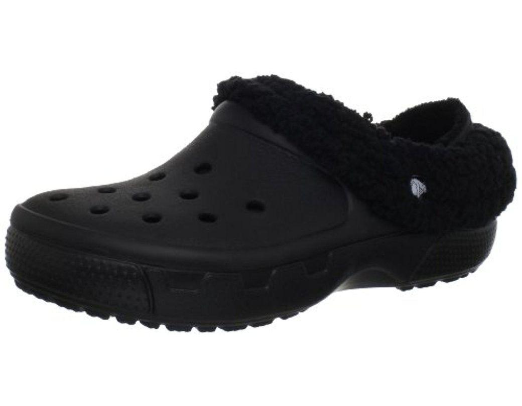 0ad7b654cd Crocs™ Unisex Mammoth Evo Lined Clog in Black - Lyst