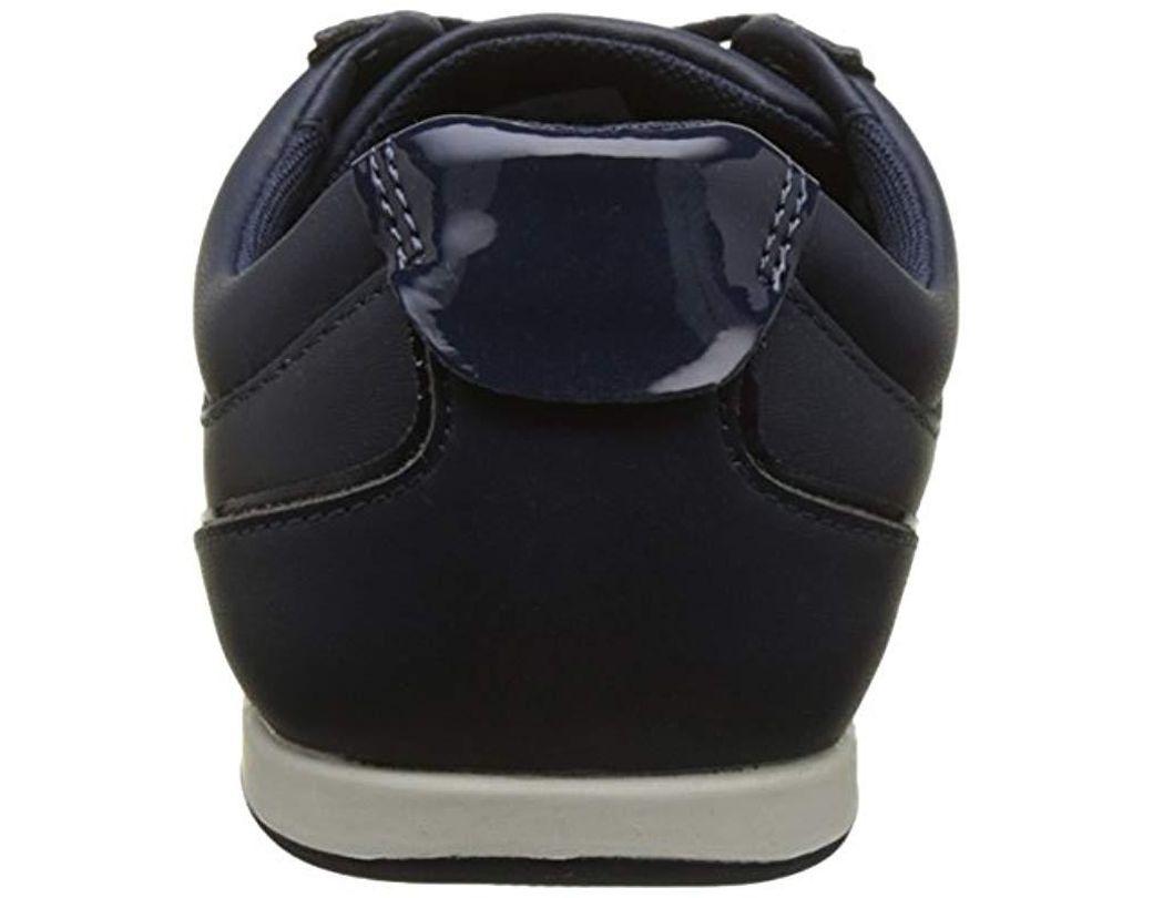 417 Rey Lyst Baskets Coloris Lacoste Femme Lace Caw 1 Bleu