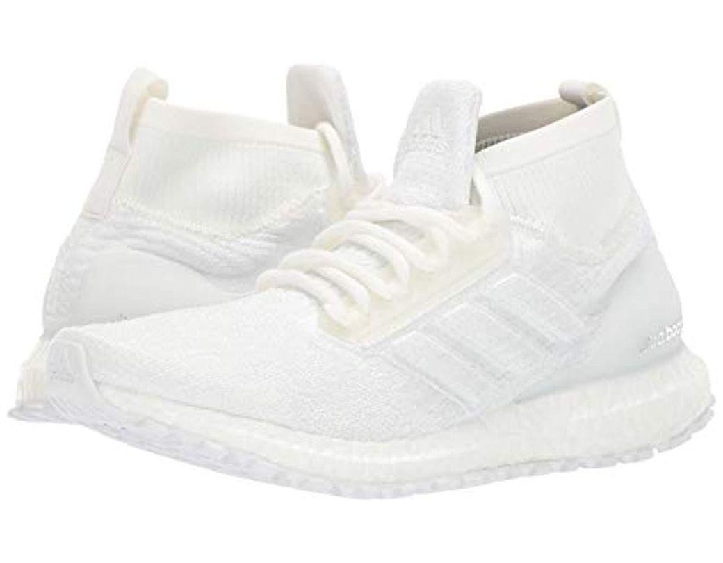 official photos b7ac1 9d3fb Men's White Ultraboost All Terrain Running Shoe