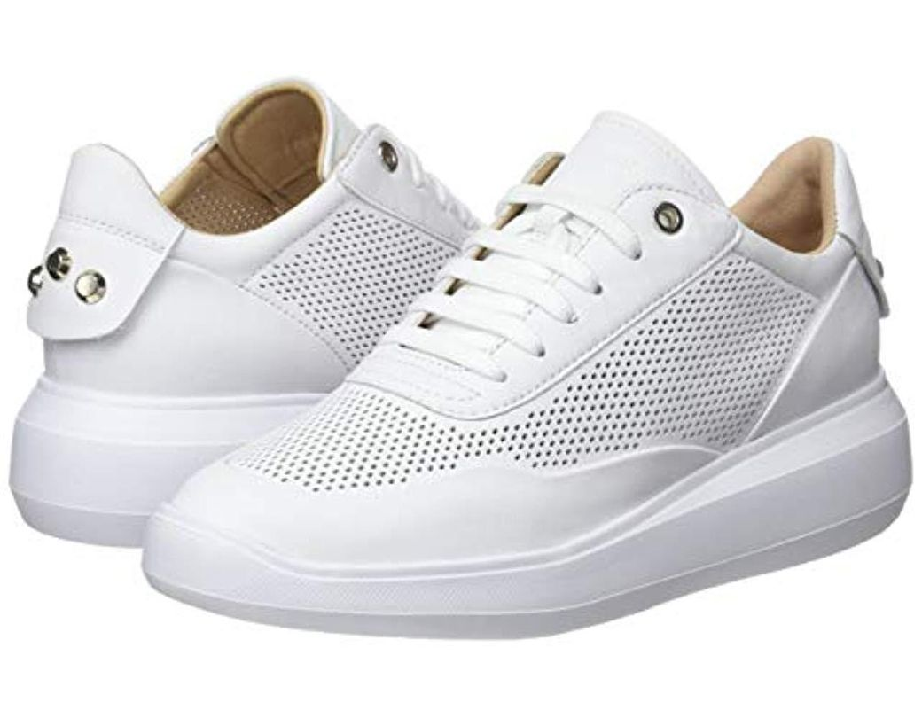 Women's White D Rubidia A Low top Trainers