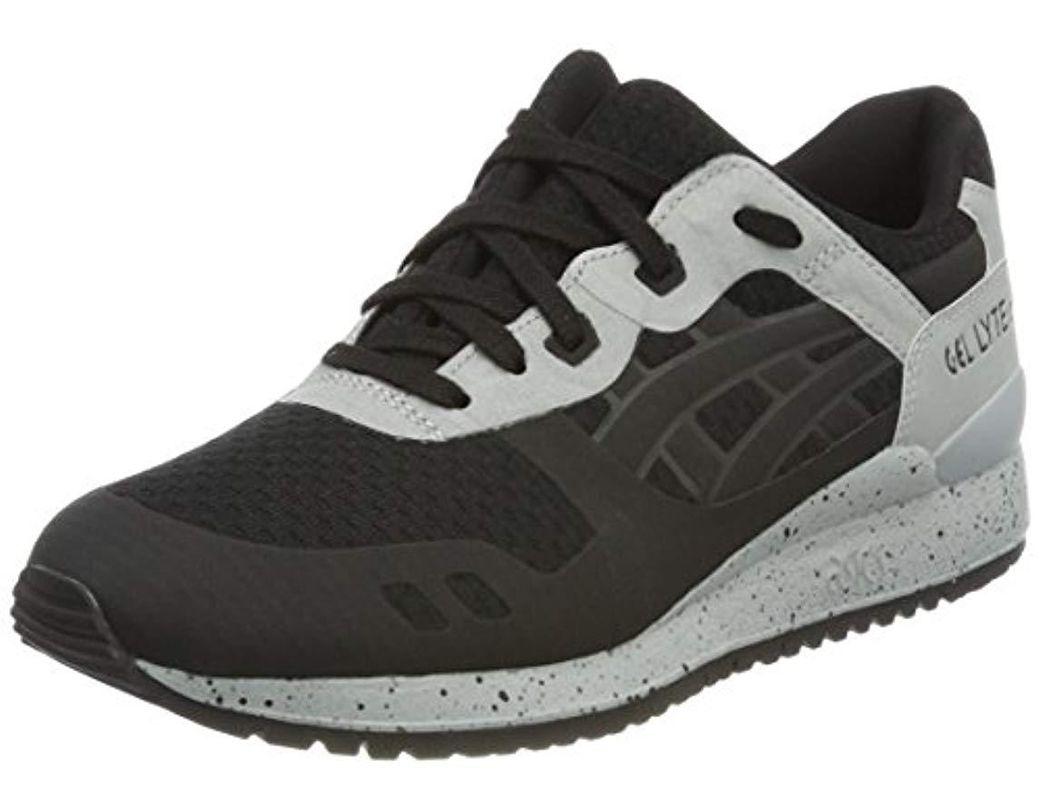 online store d877e e2a8c Black Unisex Adults Gel-lyte Iii H7x4n-9090 Trainers