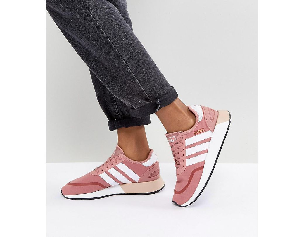 6d96e2f1a298c Lyst - adidas Originals Originals N-5923 Trainers In Pink in Pink