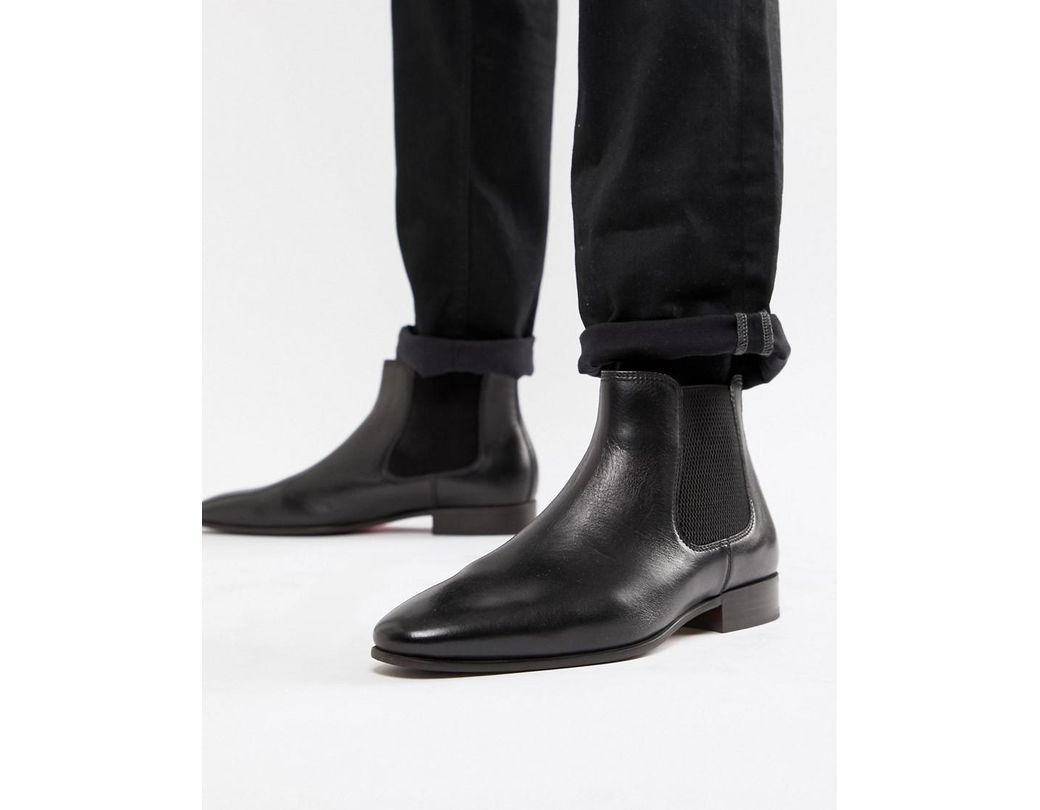 7c7c1454c0ae Long-Touch to Zoom. Long-Touch to Zoom. 1  2. ALDO - Chenadien Chelsea Boots  In Black Leather for Men - Lyst ...
