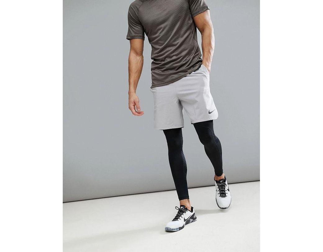 23ffa02c56726 Nike Flex Vent Max 2.0 Shorts In Grey 886371-027 in Gray for Men - Lyst