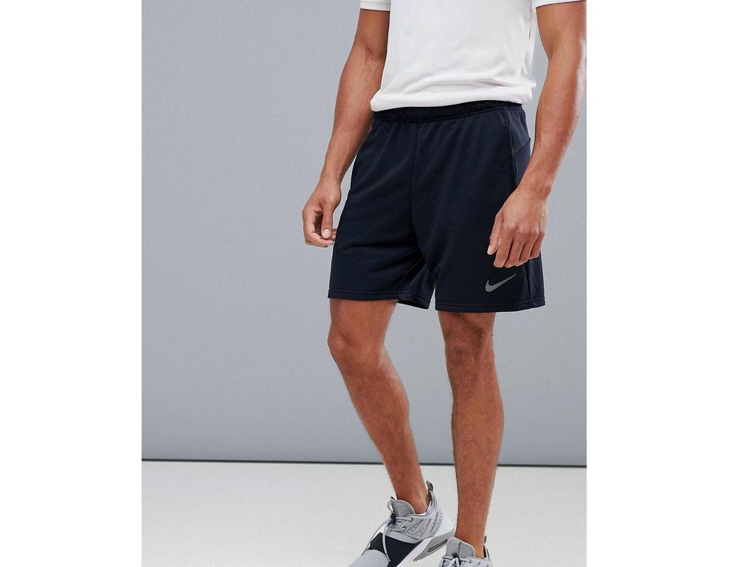 0d6ac50dd1ca7 Nike Dry Hybrid Fleece Shorts In Black Ao1416-010 in Black for Men ...