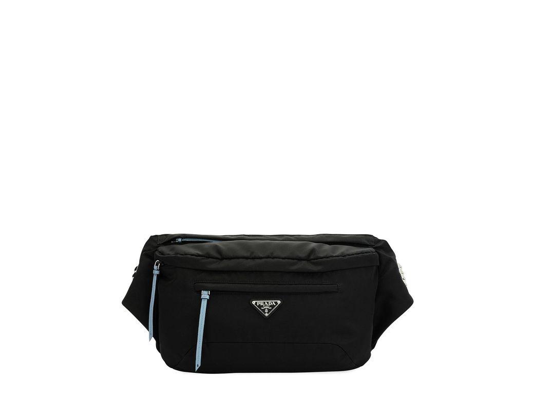 96a621b0 Women's Black Vela Nylon Square Belt Bag