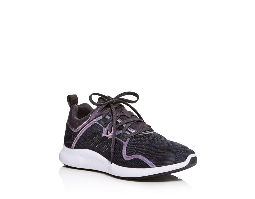 8a21f2fea6bba Lyst - adidas Women s Edge Bounce Lace Up Sneakers in Black