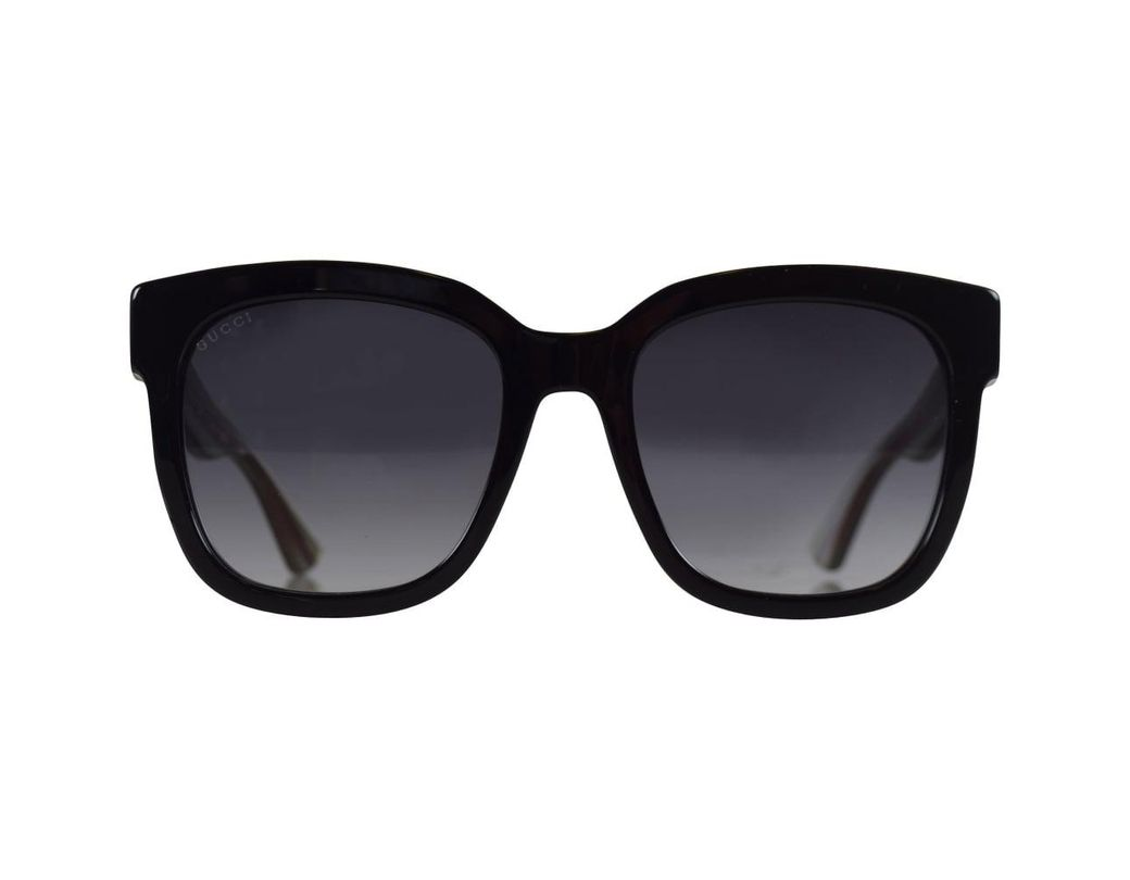 81a86437b04 Lyst - Gucci Gucci Black green Glitter Sunglasses for Men