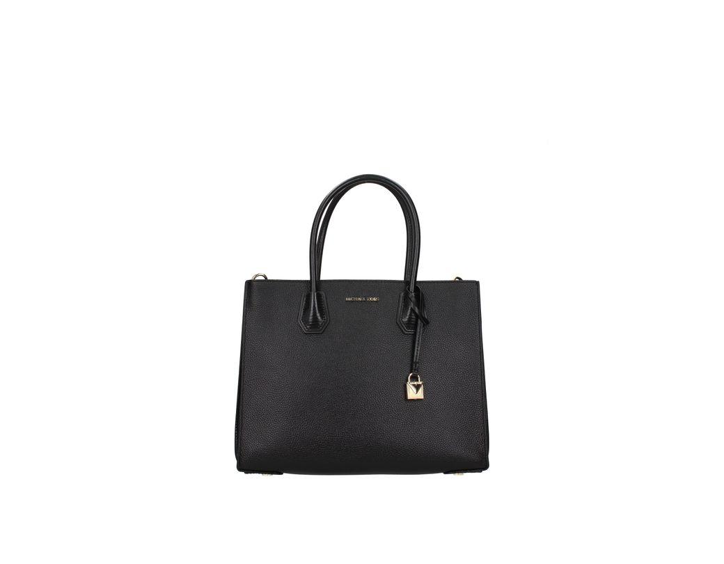 60e45cc05b18 Michael Kors Handbags Mercer Kors Studio Women Black in Black - Lyst