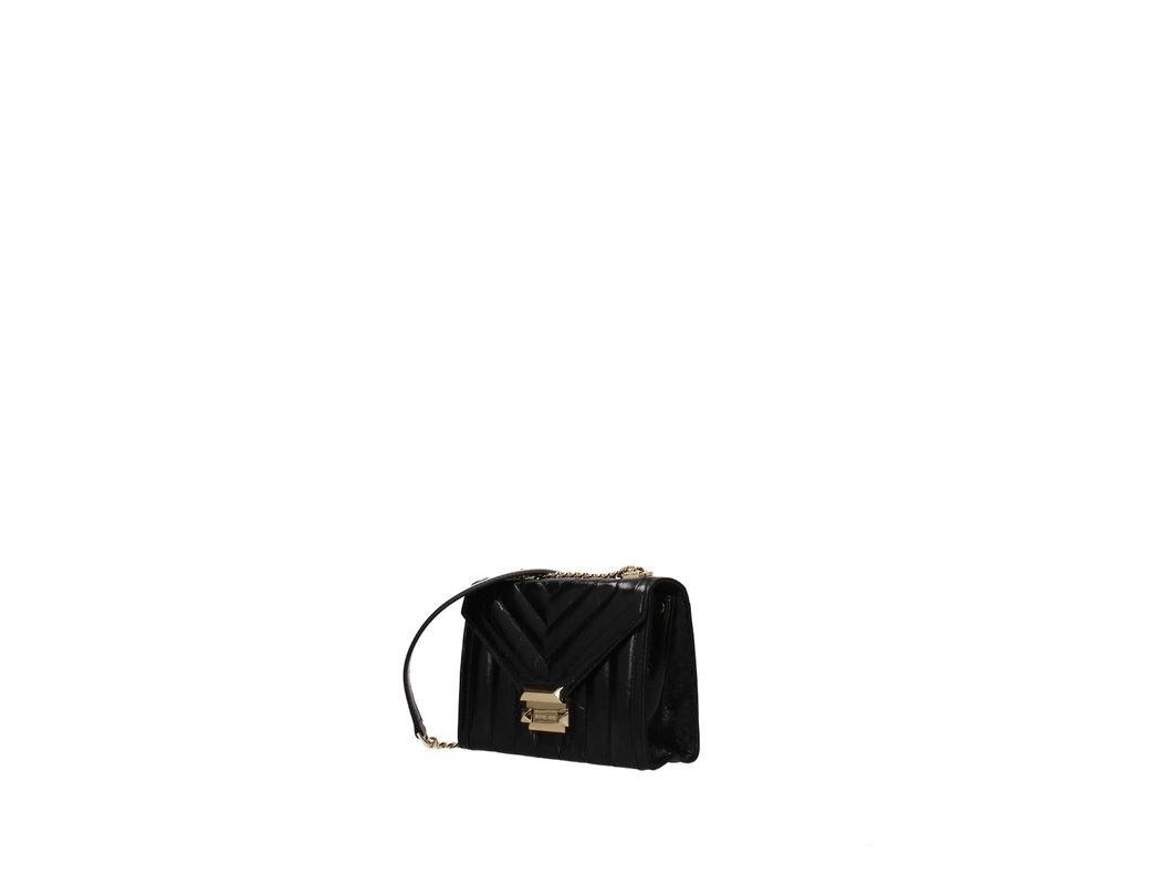 43ec2a316bc7 Lyst - Michael Kors Crossbody Bag Whitney Women Black in Black
