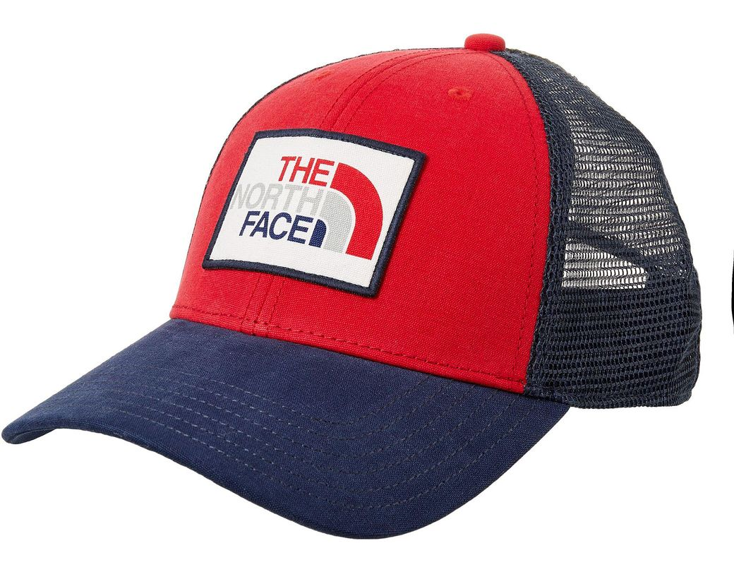 d64f64da1fd Lyst - The North Face Uni Trucker Hat in Blue for Men
