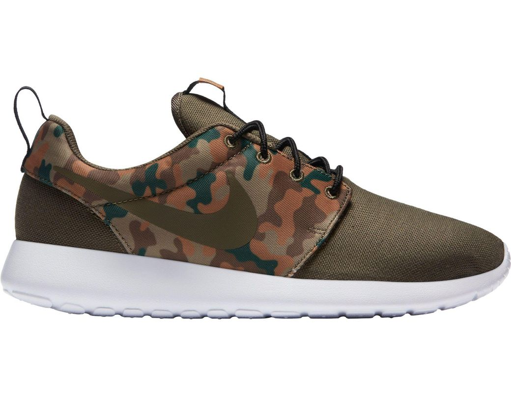 a3f863a6ba91d Nike Roshe One Se Camo Shoes in Green for Men - Lyst