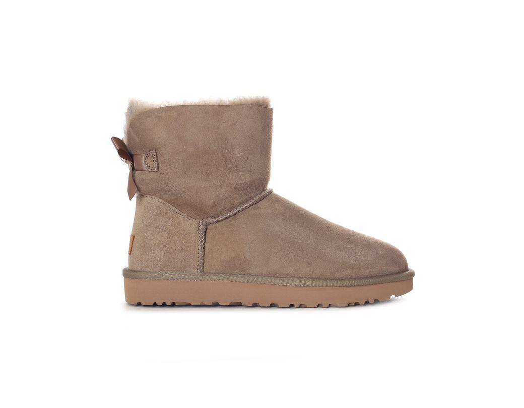 4174c3c16c3 Gray Women's Mini Bailey Bow Ll Boot Grey Violet Antilope