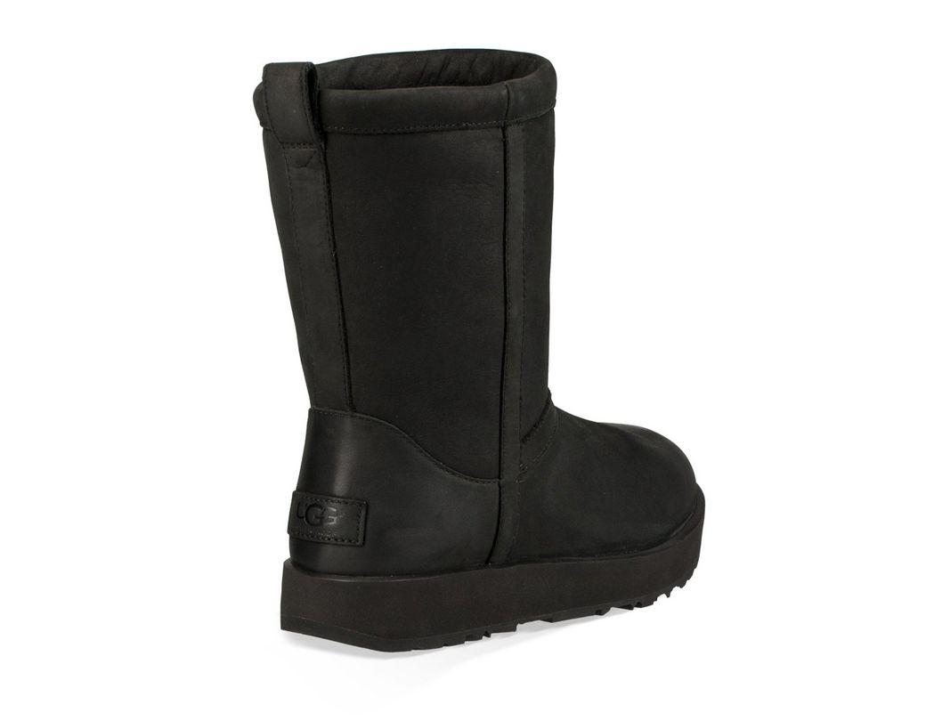 336cfc8625b Women's Black ® Classic Short Leather Waterproof Boots