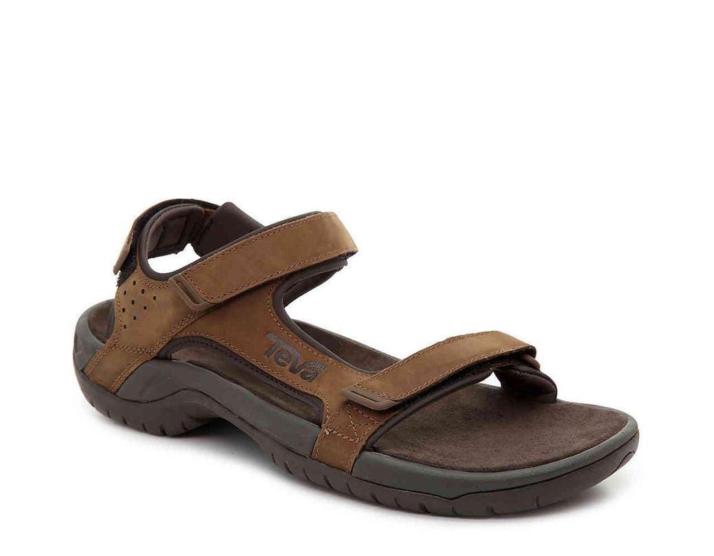 bfb78aa90 Lyst - Teva Marston River Sandal in Brown for Men