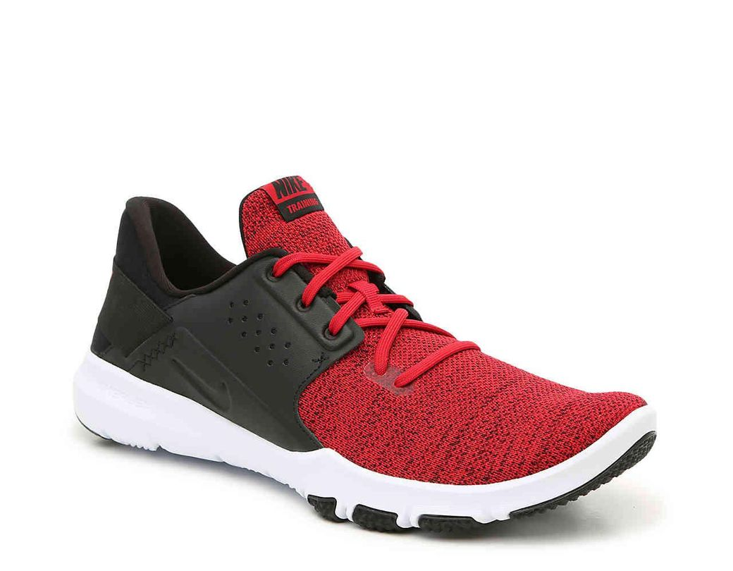 fd8853b1276d Lyst - Nike Flex Control Tr 3 Training Shoe in Red for Men