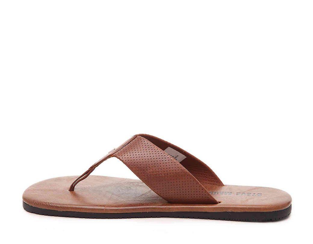 0f64d732c61 Men's Brown Slides Flip Flop