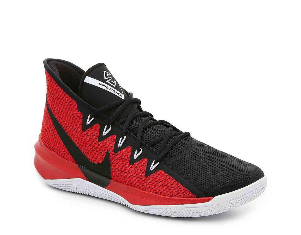 24acd068b52b Lyst - Nike Zoom Evidence Iii Basketball Shoe in Black for Men