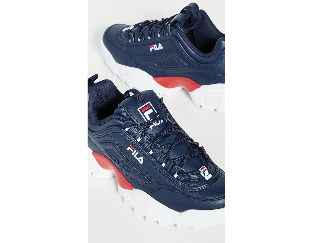 Men's Blue Disruptor Ii Lab Sneakers