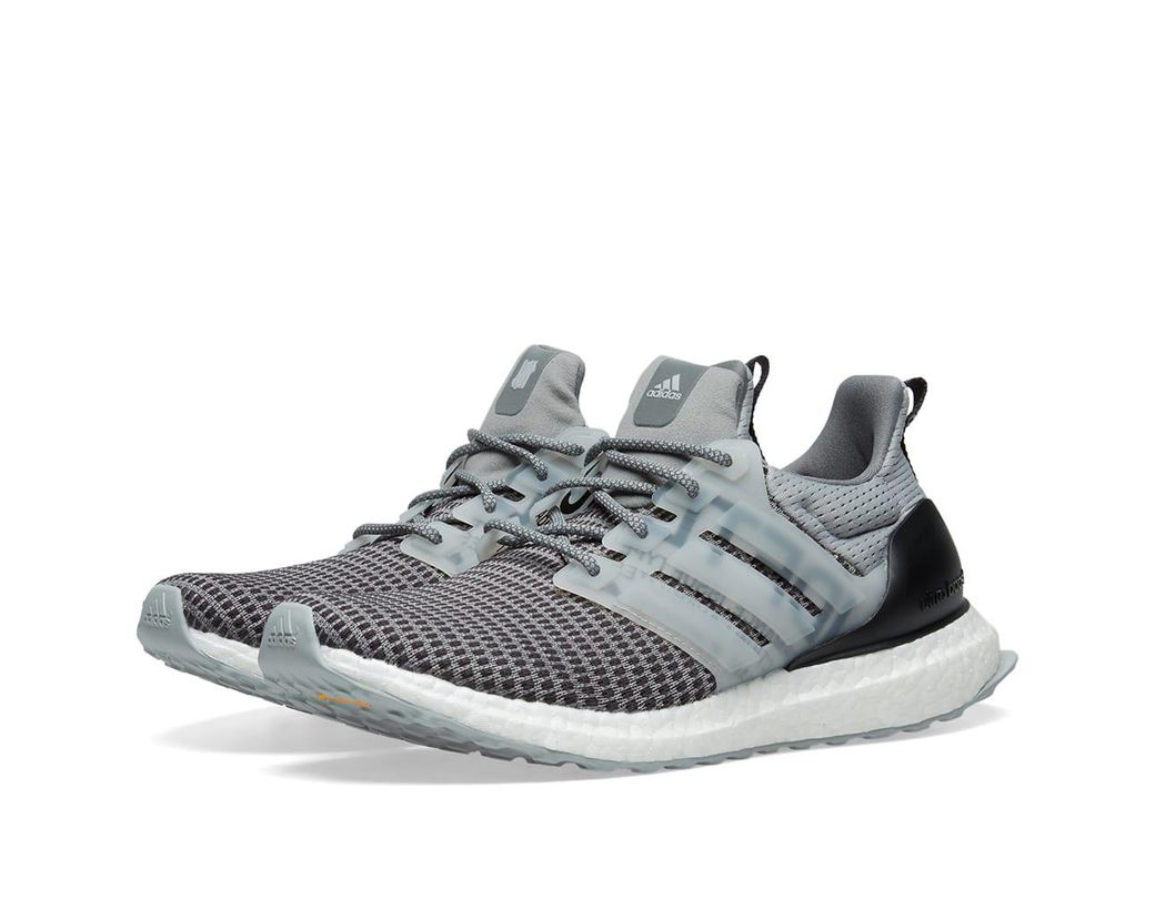0cb5ddfd3 adidas Originals Adidas X Undefeated Ultra Boost in Gray for Men - Lyst