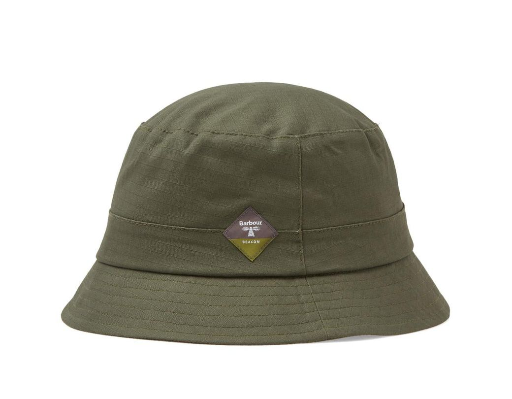 3d59c4e957a20c Barbour Gully Hat in Green for Men - Lyst