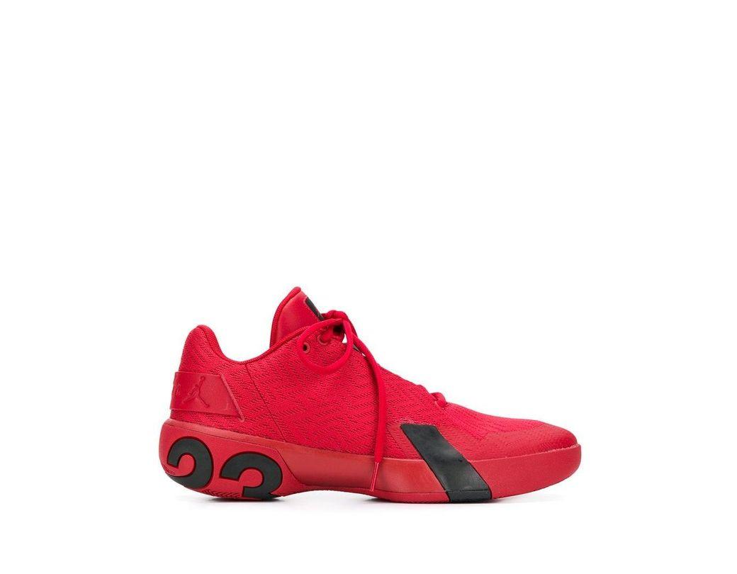 b406653f1271 Lyst - Nike  jordan Ultra Fly 3 Low  Sneakers in Red for Men - Save 12%