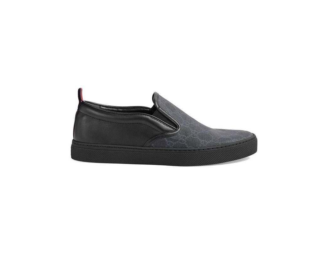 b1854328c2b81 Lyst - Gucci GG Supreme Sneaker in Black for Men - Save 19%