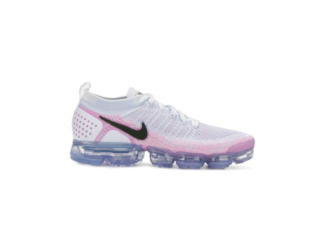 a848b84e633d Lyst - Nike Air Vapormax Flyknit Running 2  pink Beam  Sneakers in ...