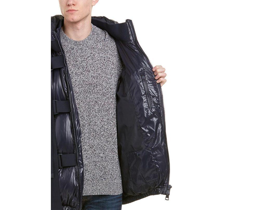 8d48099e89b Men's Blue X Craig Green Buckle Strap Quilted Down Vest