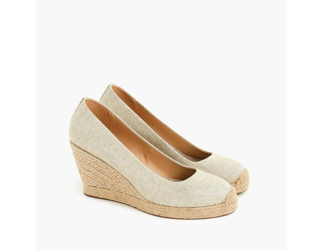 a72a35bdd72 Women's Seville Espadrille Wedges In Metallic Gold