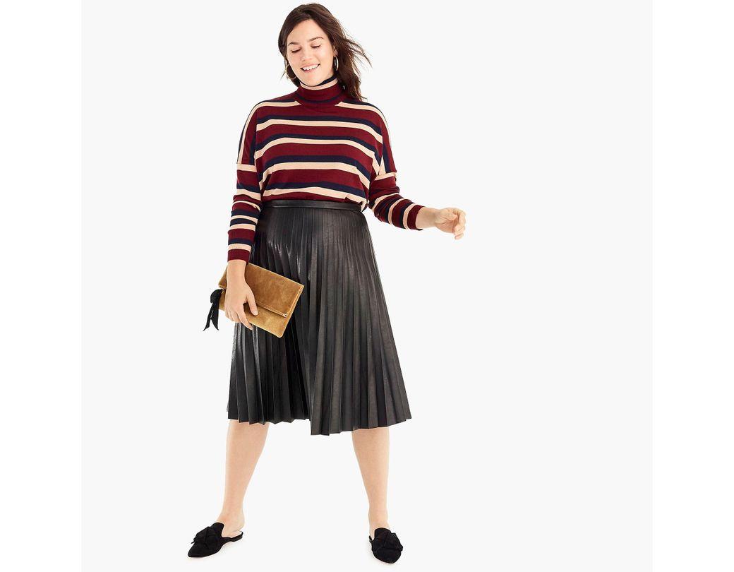 a505d21fd2 Faux Leather Midi Skirt Petite – DACC