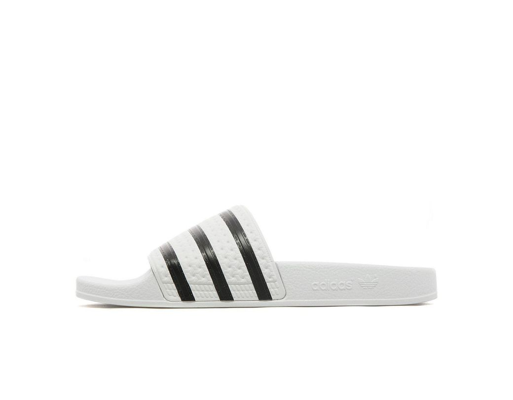 a080163b1620 adidas Originals Sandals in White for Men - Save 25% - Lyst