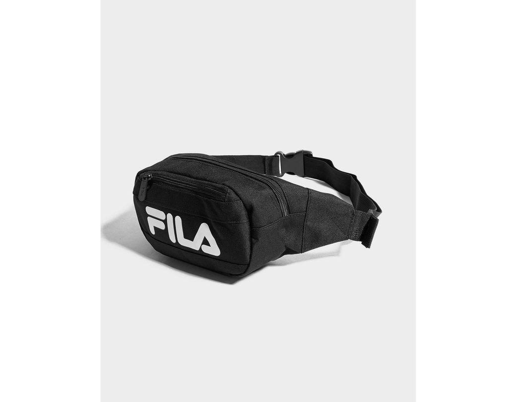 09118c74800 Fila Younes Waist Bag in Black - Lyst