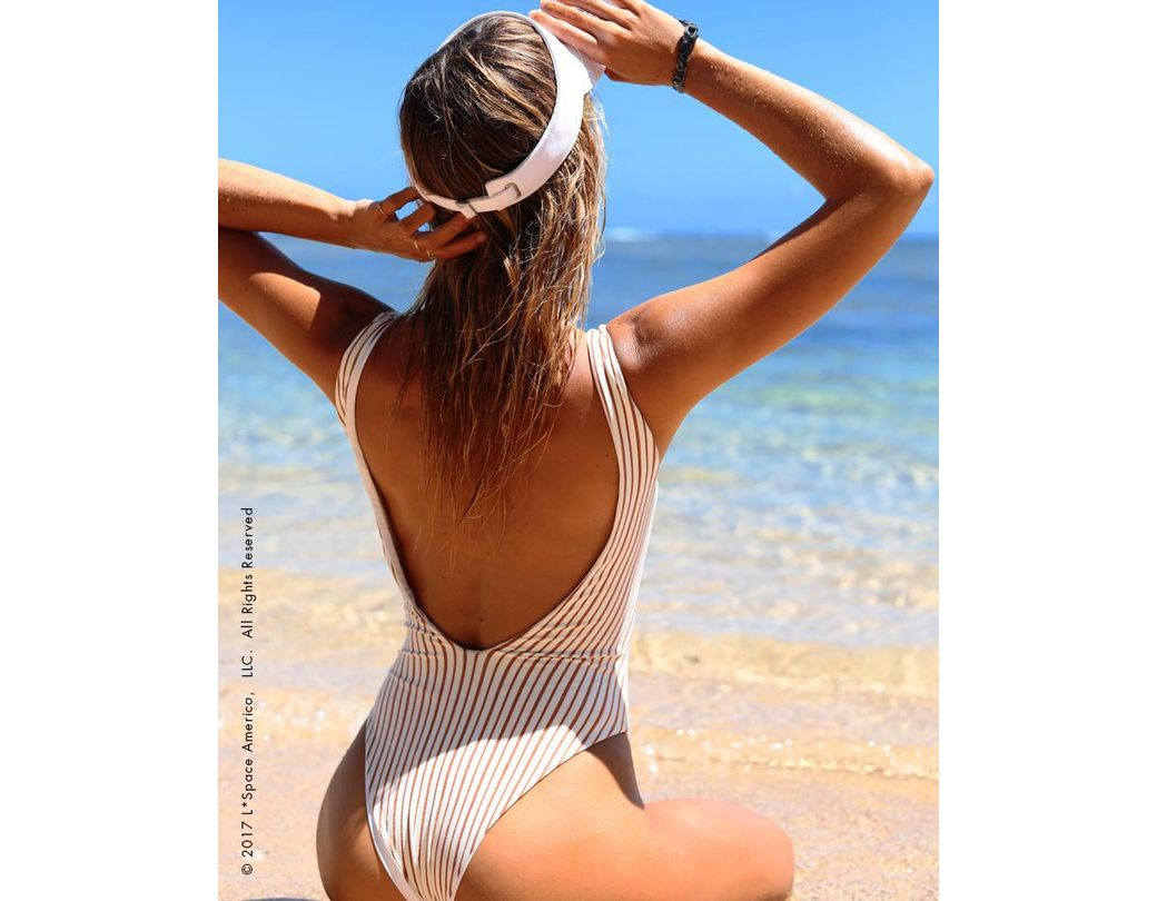 e6280f8909 L*Space Gold Horizon Arizona One Piece Swimsuit in White - Save 30% - Lyst