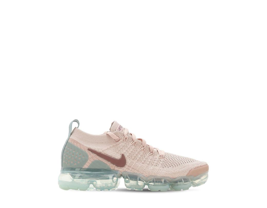 69f04c24c048 Nike Air Vapormax Flyknit 2 Sneakers in Pink - Save 48% - Lyst