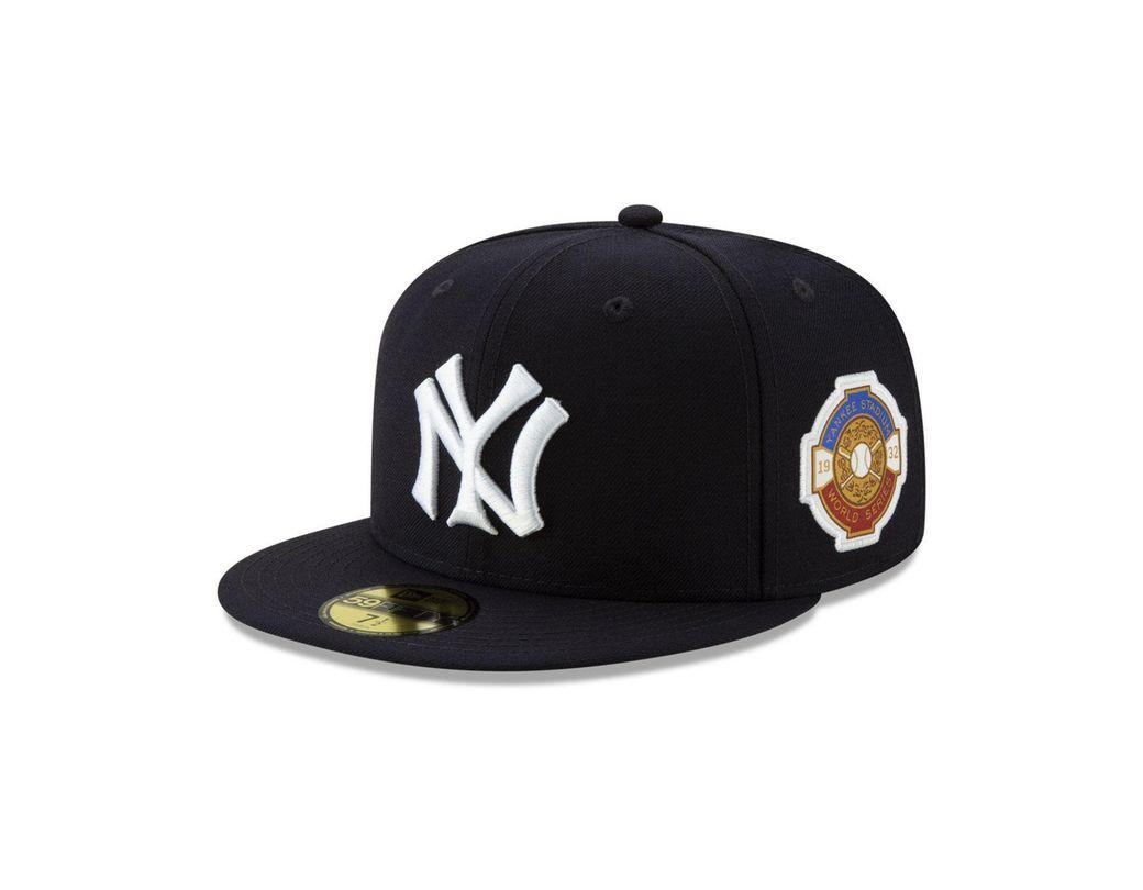 quality design c0fef 84150 KTZ. Men s Black New York Yankees World Series Patch 59fifty Cap