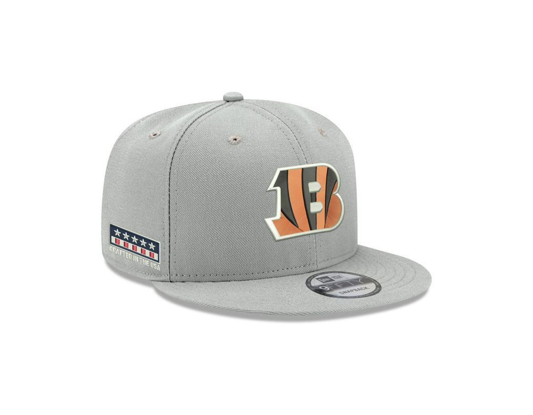competitive price 94e32 90751 KTZ. Men s Gray Cincinnati Bengals Crafted In The Usa 9fifty Snapback Cap