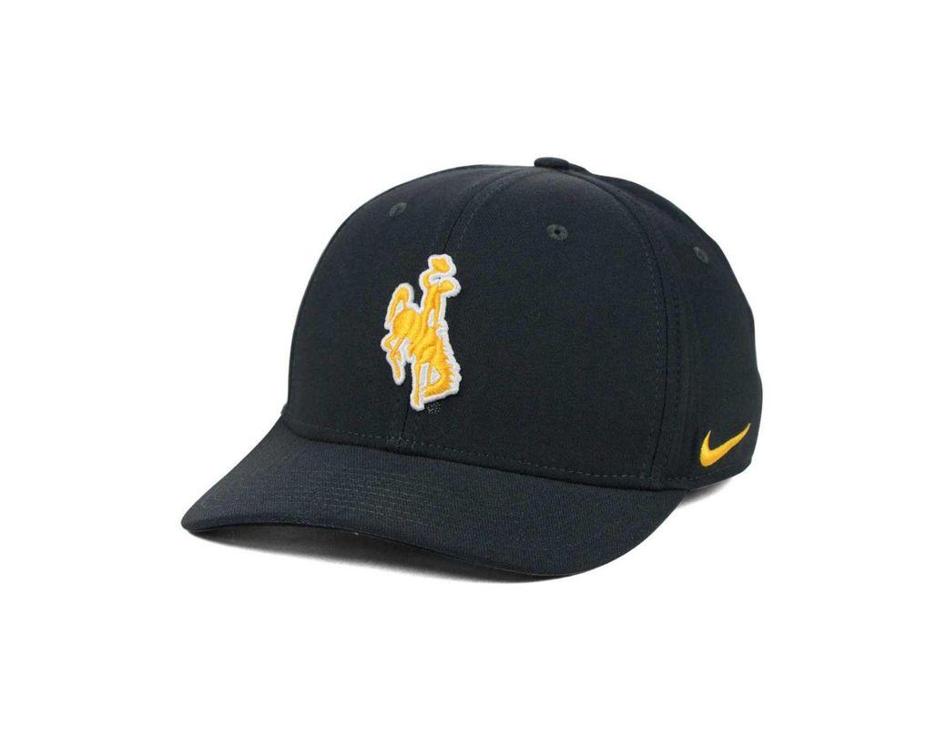 Lyst - Nike Wyoming Cowboys Classic Swoosh Cap in Gray for Men