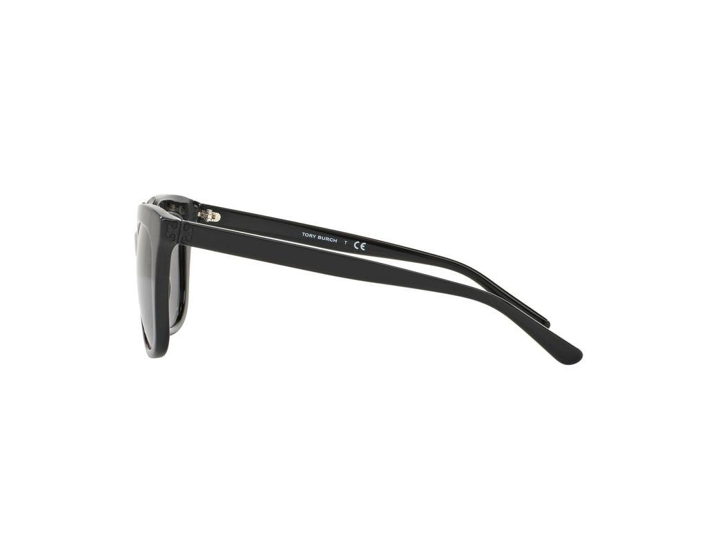 c555bb1d51df Tory Burch Sunglasses, Ty7105 in Black - Save 54% - Lyst