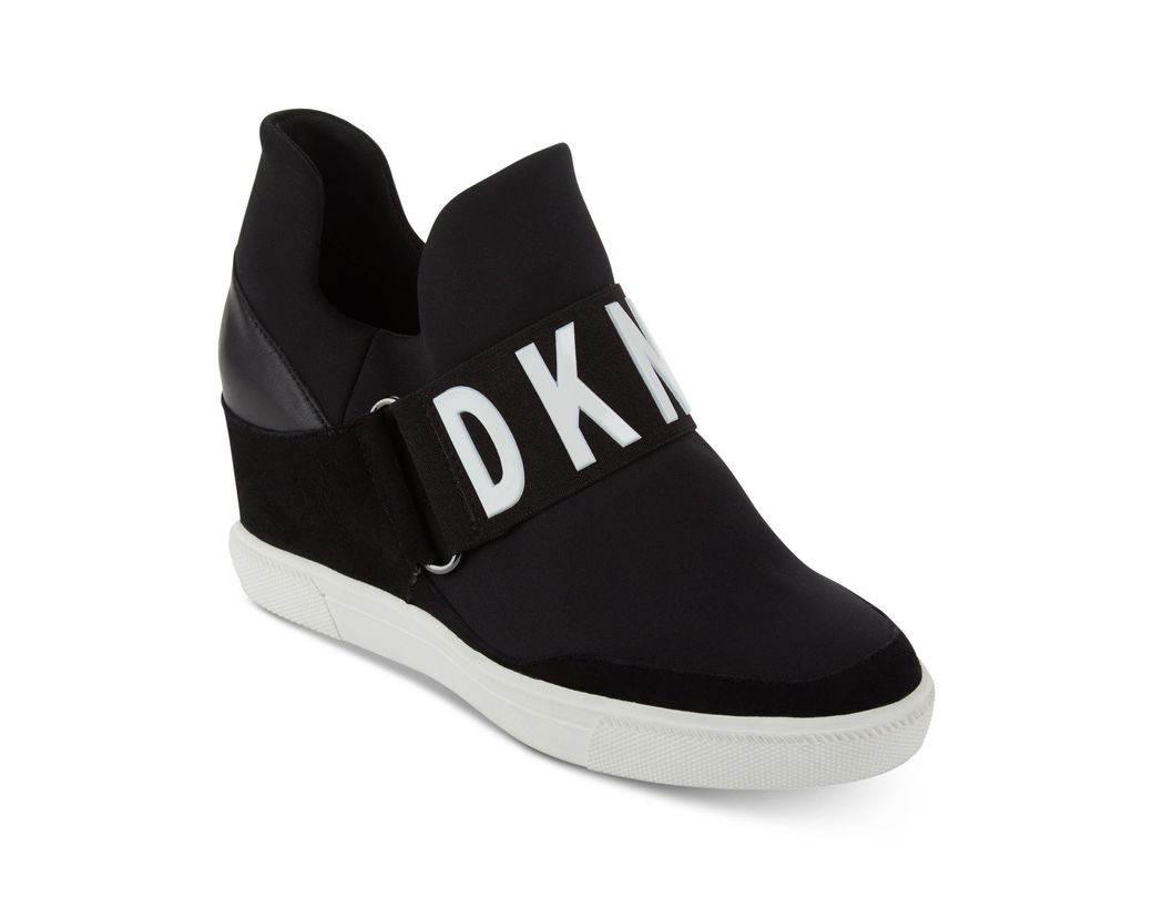 77df555f87c81 Lyst - DKNY Cosmos Platform Sneakers