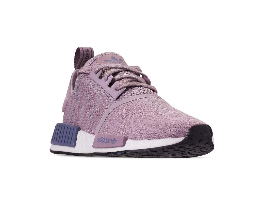 1178af61e1d58 Lyst - adidas Nmd R1 Casual Sneakers From Finish Line in Purple