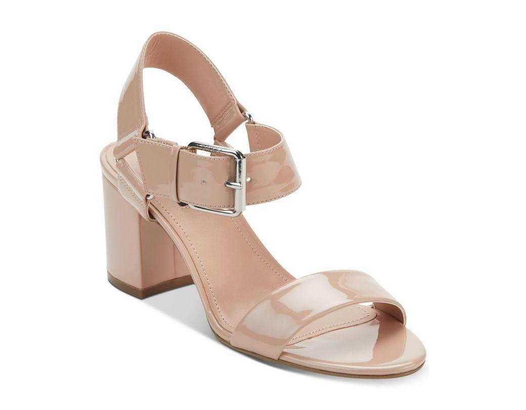 0447db06bffc Lyst - DKNY Sierra Dress Sandals