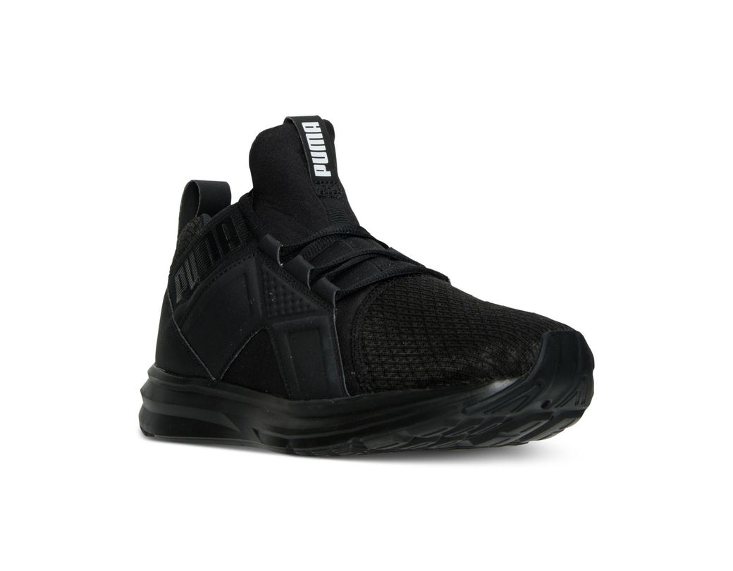 Casual Sneakers Men's From Enzo Line Black Finish n08OwkXNPZ