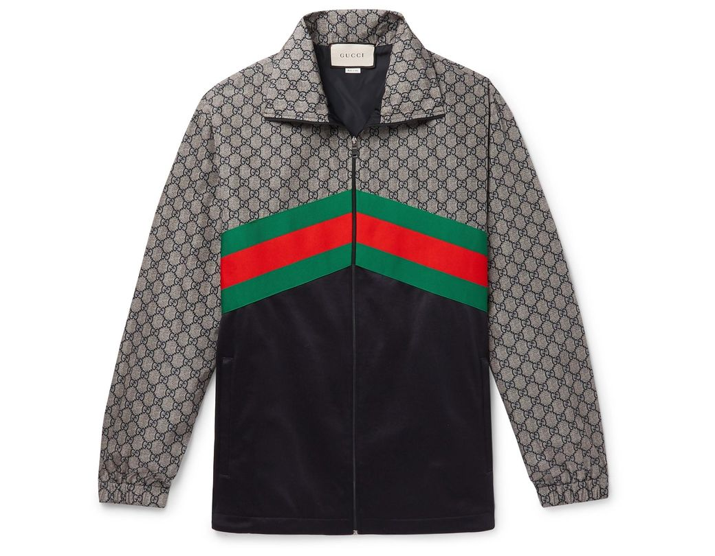 b1f59fcde Gucci Gg Track Jacket for Men - Lyst