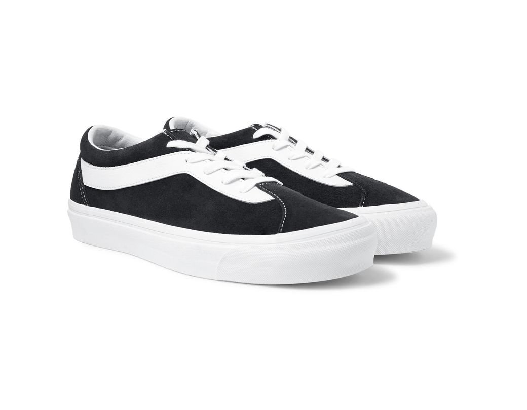 55242d93b06d Vans Staple Bold Ni Suede And Leather Sneakers in Black for Men - Lyst
