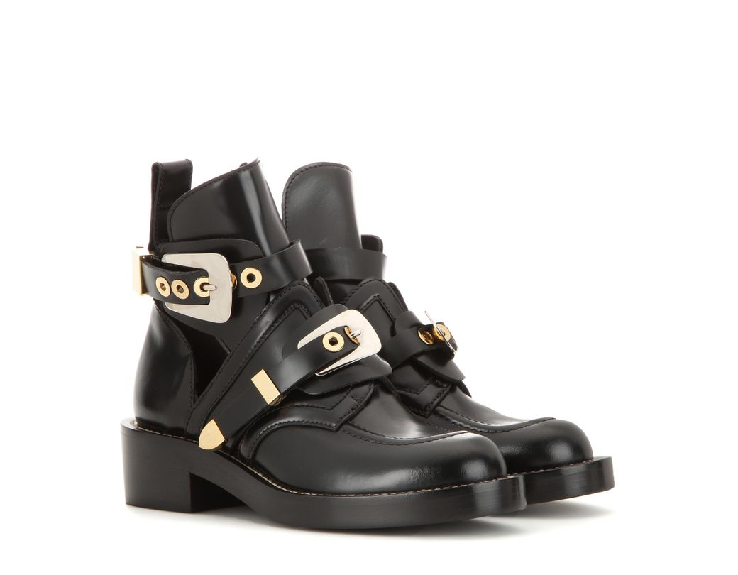 2615eeb7f1bc5 Balenciaga Women's Ceinture Ankle Boots in Black - Save 40% - Lyst
