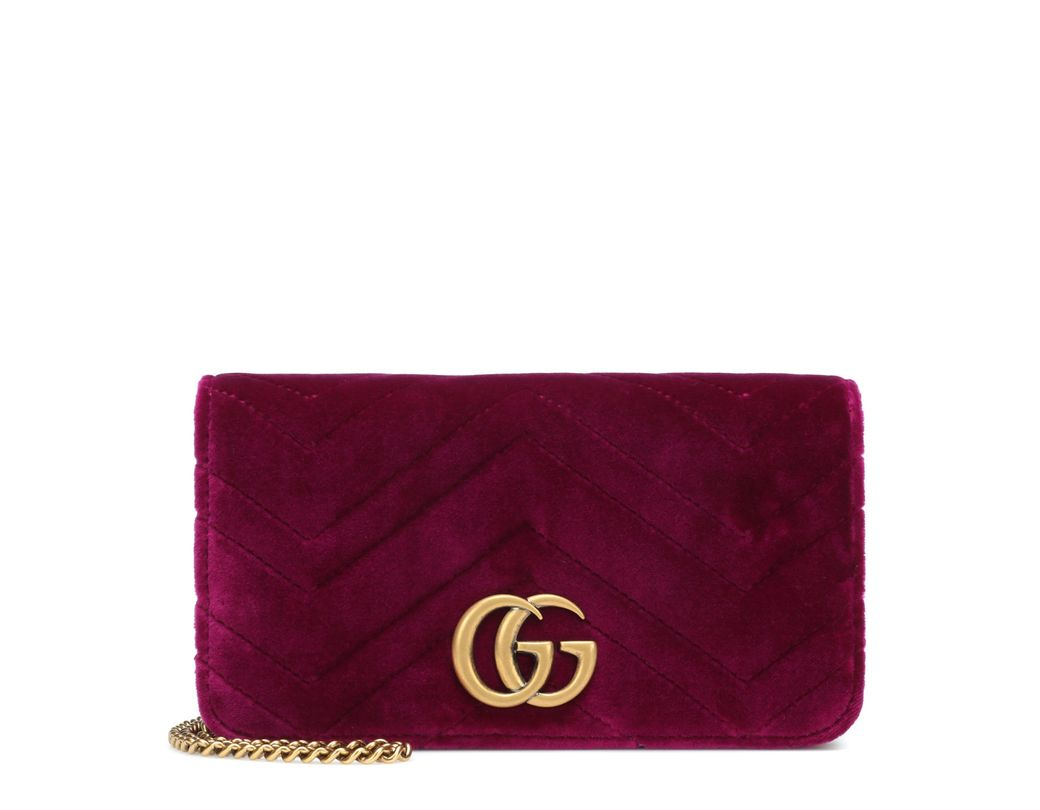 d22a36f9065 Gucci. Women s GG Marmont Super Mini Shoulder Bag