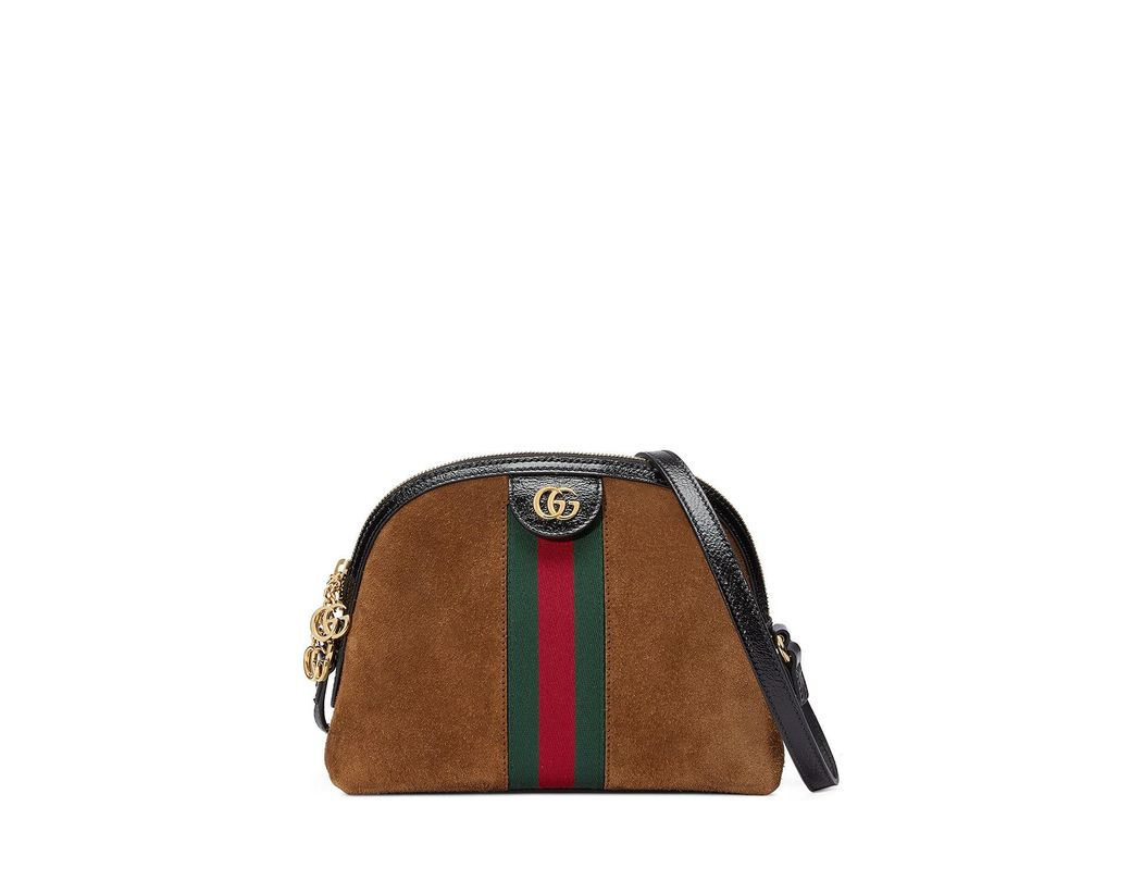 56a2bda21ce Lyst - Gucci Brown Ophidia Small Shoulder Bag in Brown - Save 2%